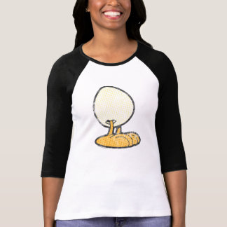 Sheldon a camisa das mulheres do ovo t-shirt