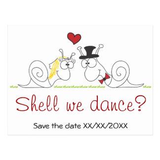 Shell que nós dançamos? - Salvar o cartão da data