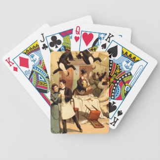 Shenanigans do restaurante do T Baralhos De Poker