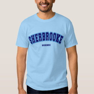 Sherbrooke escolar tshirt