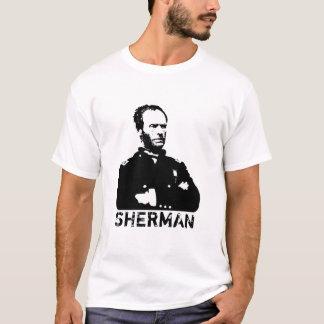 Sherman -- Preto e branco Camiseta