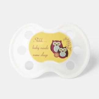 Shh… o bebê precisa algum Pacifier da coruja do so Chupeta Para Bebê