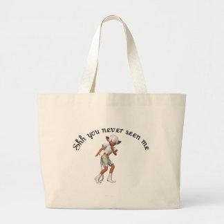 shh você nunca visto me bolsas para compras