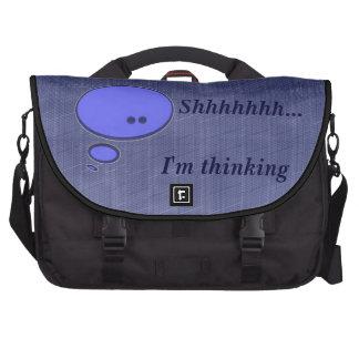 Shhhh que eu estou pensando bolsas para computadores portáteis