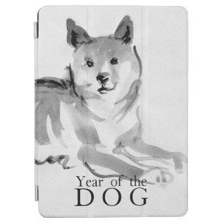 Shiba Inu que pinta o ano chinês 2018 iPad2 do cão Capa Para iPad Air