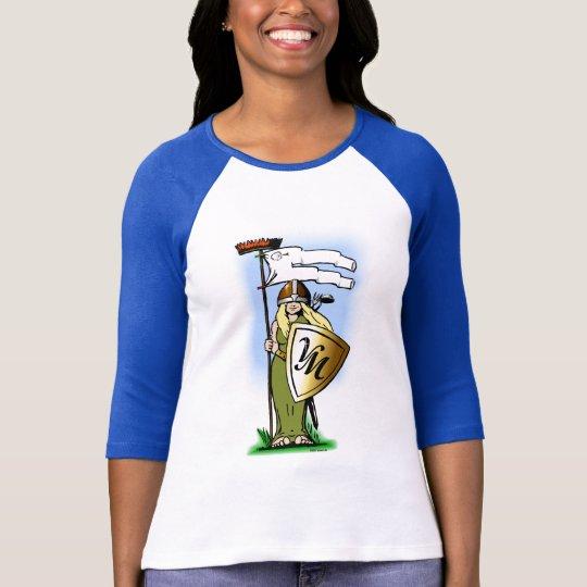 Shieldmaidens dos Viggo-Trabalhos Camiseta