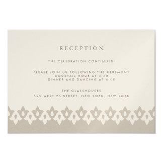 Shimmer do cartão | Champagne da recepção do