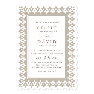 Shimmer do convite | Champagne do casamento do