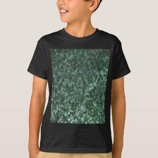 Shimmer pintado Aqua do brilho Camisetas