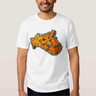 SHOCKEAS 3D (3D-Graffiti em alpargata) Tshirt
