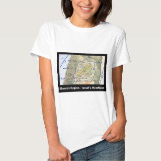 Shomron o coração de Israel Tshirts