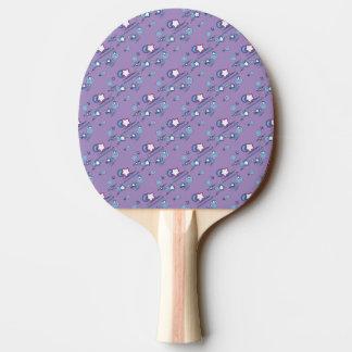 Shooting Stars e pá roxa de Pong do sibilo dos Raquete De Pingpong