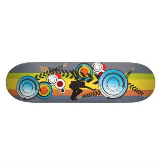 Shredder urbano shape de skate 18,7cm