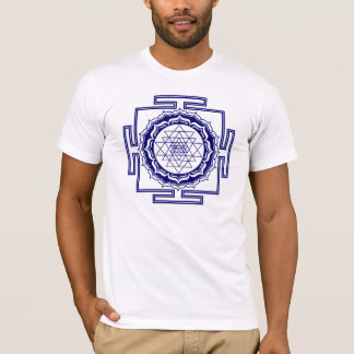 Shri Yantra, Lotus, Energias gerador Camiseta