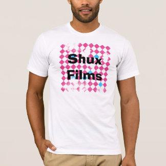 ShuxFilmsBackgroundFINAL, filmes de Shux Camiseta