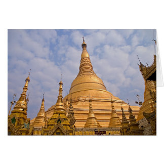 Shwedagon Paya • Cartão