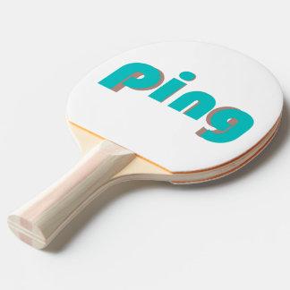 Sibile um Pong Raquete Para Pingpong