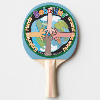 """Sibilo Pong """"mãos de exploração """" de Bebuddies® Raquete Para Pingpong"""