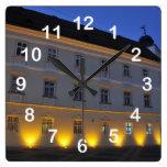 Sibiu na noite relógios para paredes
