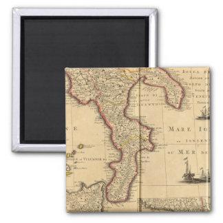 Sicília Italia Ímã Quadrado