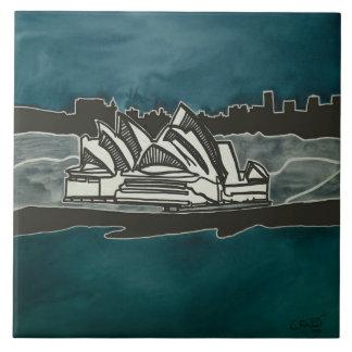 Sidney Azulejo Quadrado Grande
