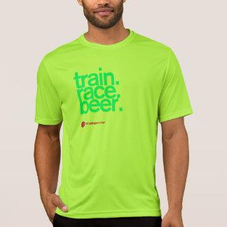 SIGA-ME à tecnologia Running T da CERVEJA Camiseta