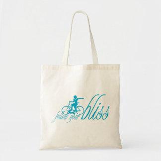 Siga sua felicidade bolsas para compras