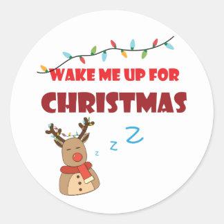 Sigamart clássico, etiqueta lustrosa para o Natal Adesivo