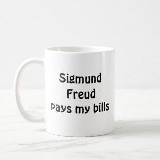 Sigmund Freud paga minha caneca das contas