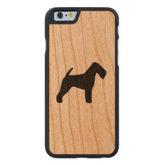 Silhueta de galês Terrier rústica
