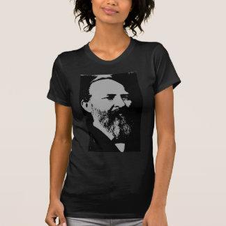 Silhueta de James A Garfield T-shirts