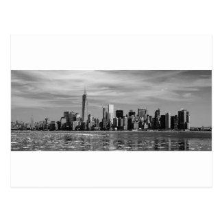 Silhueta de New York Cartão Postal
