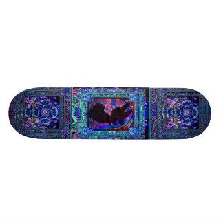 Silhueta do anjo shape de skate 19,7cm