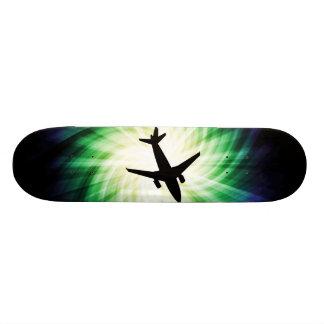 Silhueta do avião; Legal Shape De Skate 20cm