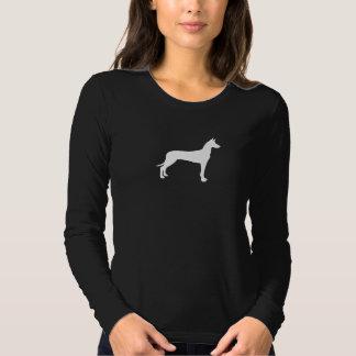Silhueta do cão do faraó tshirt
