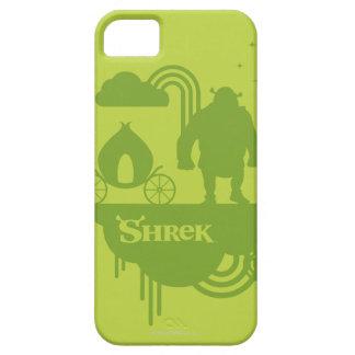 Silhueta do conto de fadas de Shrek Capa Barely There Para iPhone 5