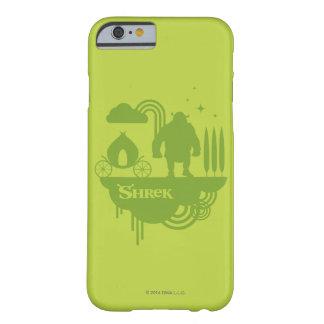 Silhueta do conto de fadas de Shrek Capa Barely There Para iPhone 6