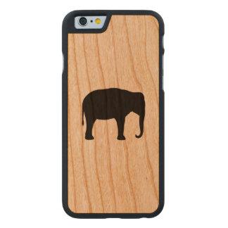 Silhueta do elefante asiático