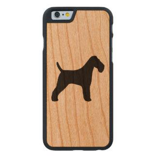Silhueta do Fox Terrier do fio