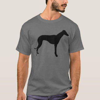 Silhueta do galgo camiseta