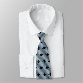 Silhueta do jogador do rugby - preto/laranja em gravata