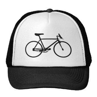 Silhueta do Mountain bike Boné