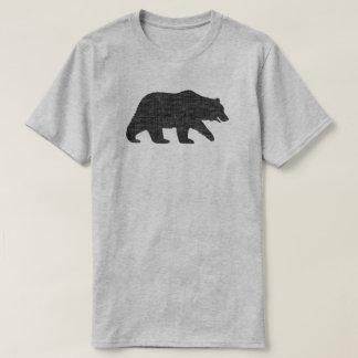 Silhueta do urso de urso camiseta