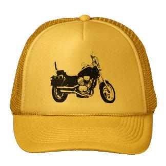 Silhueta legal da bicicleta da motocicleta boné