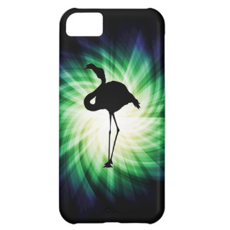 Silhueta legal do flamingo capa para iPhone 5C