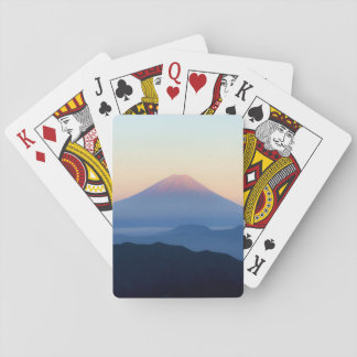 Silhuetas de Monte Fuji Jogos De Baralhos