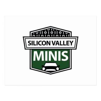 Silicon Valley Minis - cartão verde do logotipo