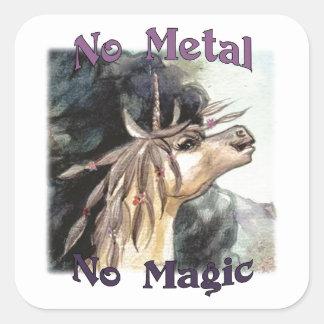 Silubhra nenhum metal nenhumas etiquetas mágicas