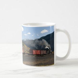 Silverton, caneca de viagem do trem de Colorado