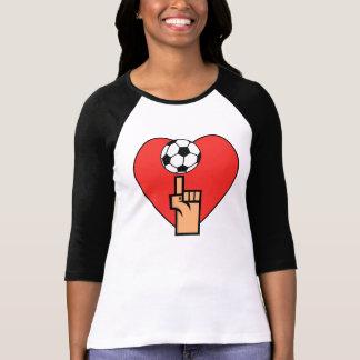 Sim eu amo camisas e presentes do futebol T